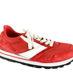 Brooks Chariot Womens Retro Red Shoes Sz 6.5